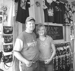 Merc finds balance between cowboy, biker gear