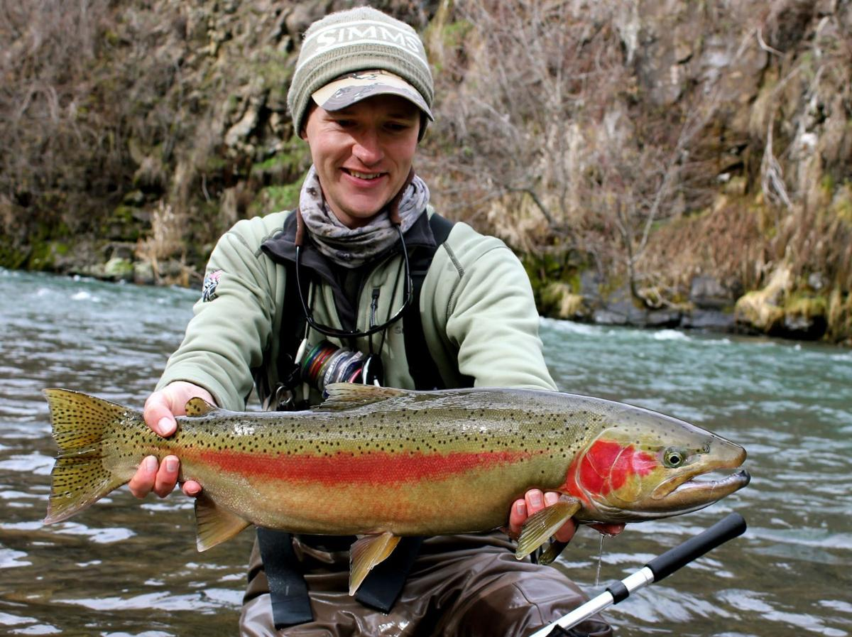 Enterprise fly fisherman medals with Team USA