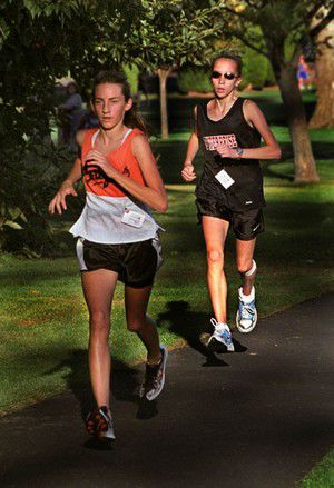 Area runners gear up for district