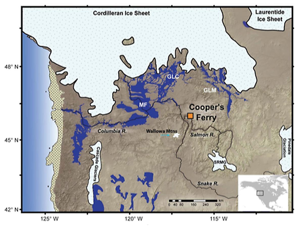 The Northwest, 16,000 years ago: