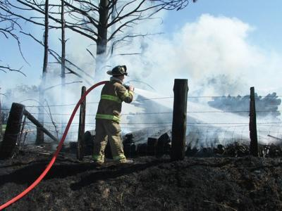 Fire snuffed on Bicentennial Lane near Joseph