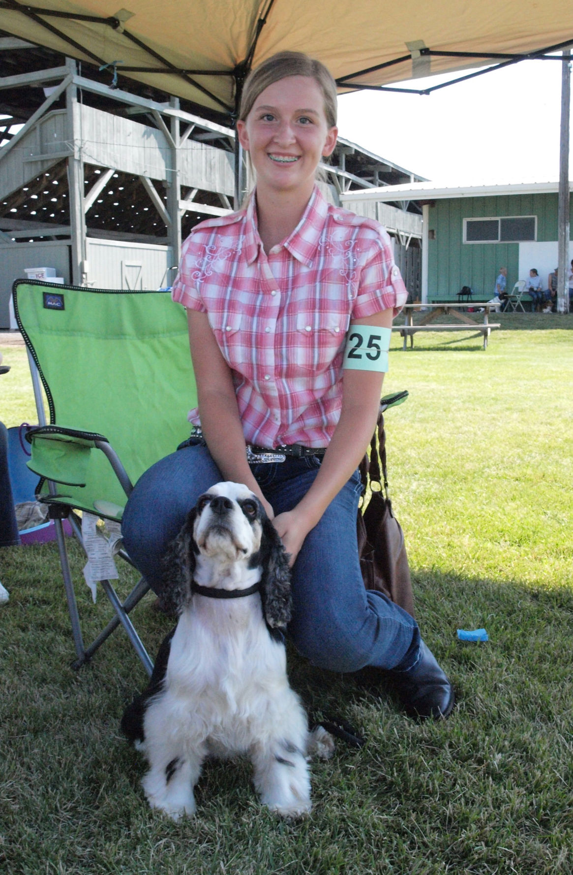 Blue ribbons all around at dog show