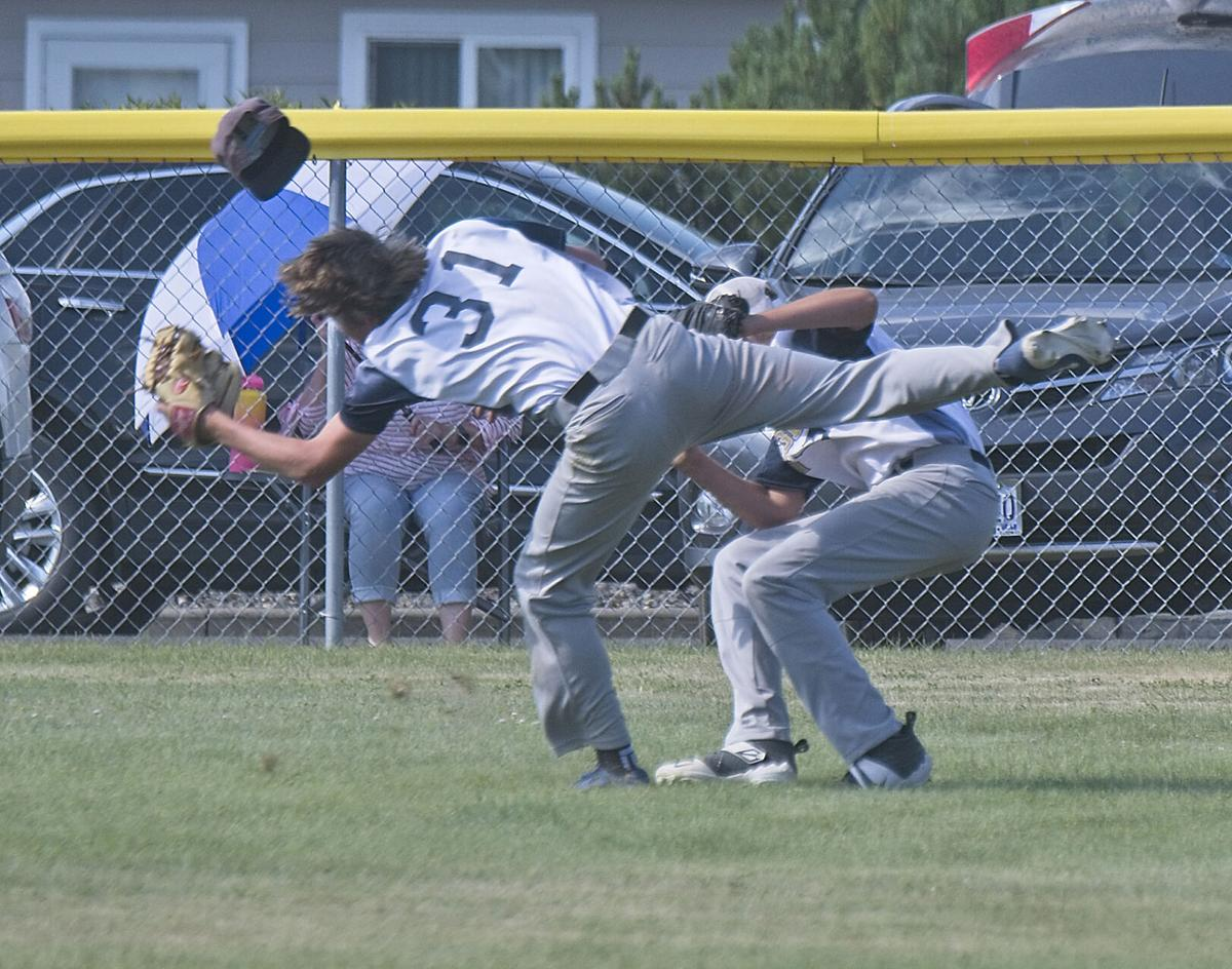 Outfield Collision 2