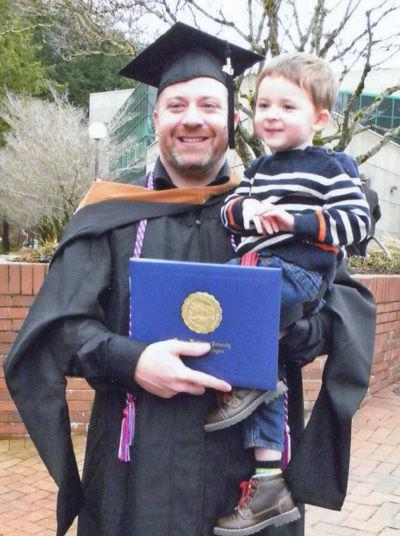 Brek Nebel earns MBA degree