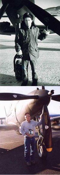 Retired rancher recalls WWII pilot days on Fox News show