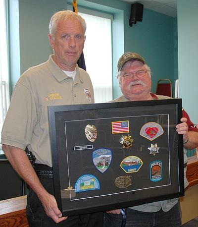 Shaw's policing career honored