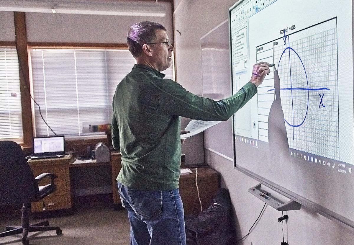 Smart board in online learning
