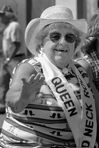 Gladys Nobles honored Queen of Red Neck Rodeo