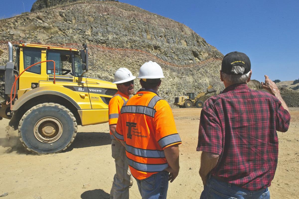 Minam curve excavation 1