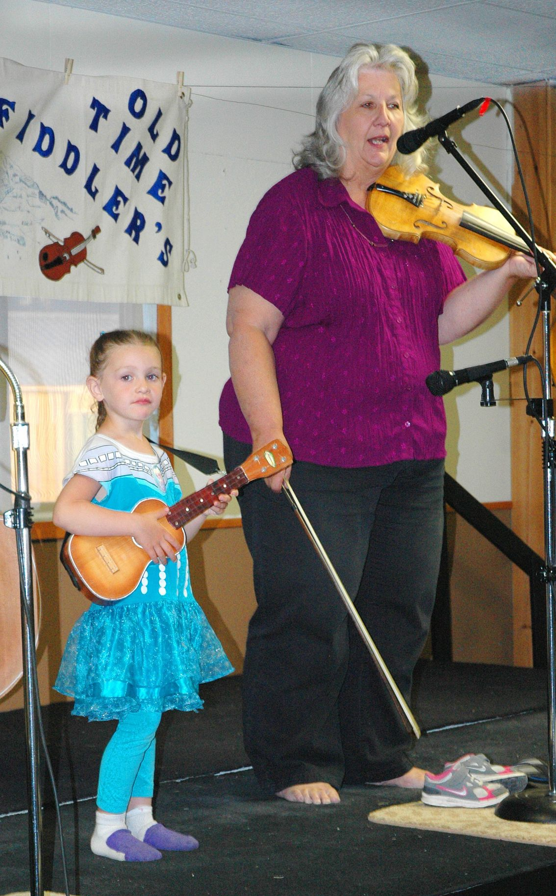 Fiddlers are a crowd-pleaser