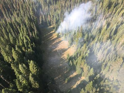 Granite gulch Fire Sept 2