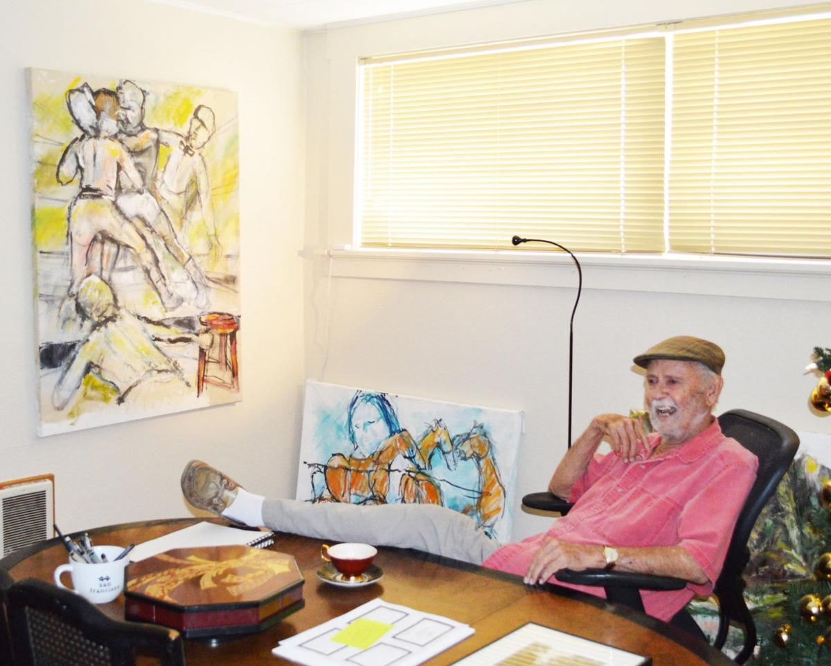 Bob Fergison: Broad strokes on life's canvas
