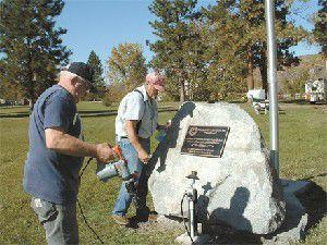 Lions dedicate park in Wallowa