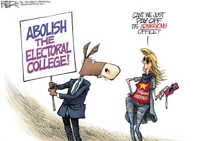 Bribe the electoral college