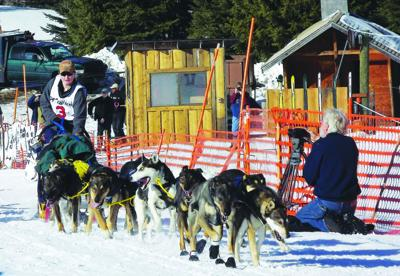 Wallowa students write about sled dog races, musher who visits school