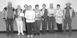 Family award dinner honors 4-H members