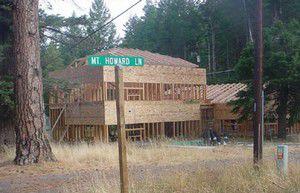 New motel under construction at south end of Wallowa Lake