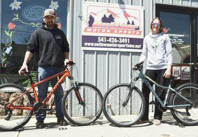 Giant bikes perfect attendence awards