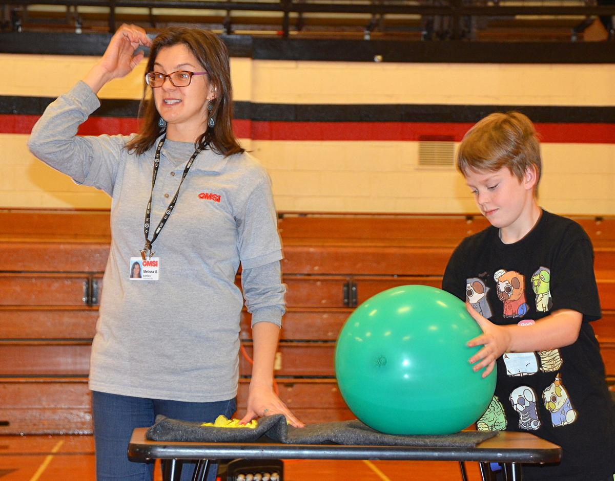 OMSI presentation electrifies Wallowa County students