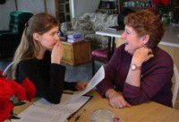 Meningitis victim fills void by volunteering at school