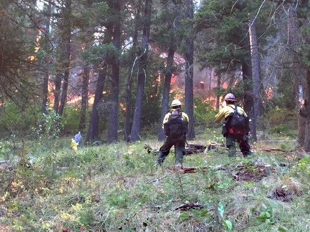 Falls Creek Fire: 61 homes still in danger