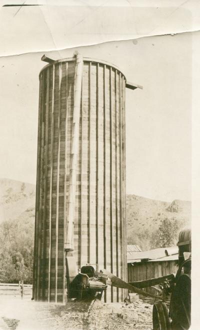 Wallowa county silo