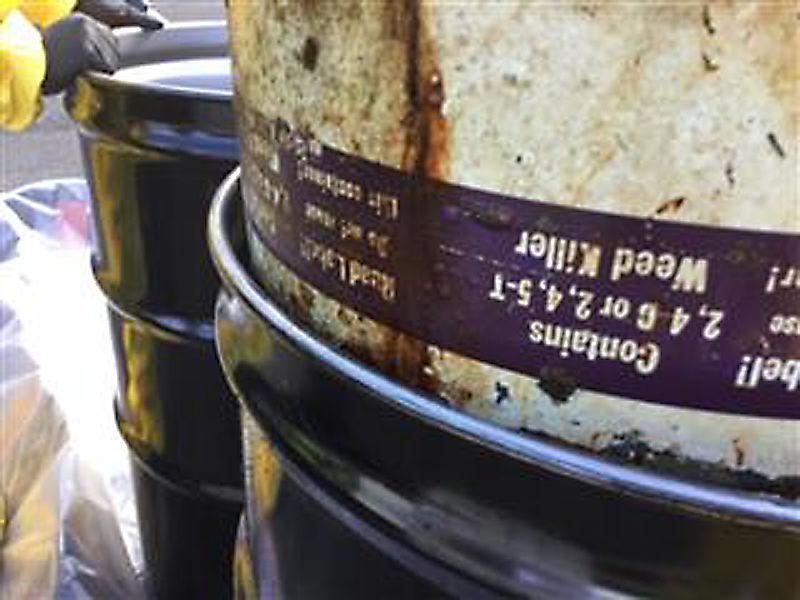 Wallowa Lake Barrels EPA drum