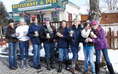 Nez Perce Riders stage food drive