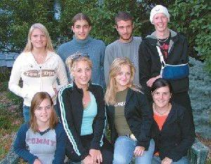 Exchange students welcomed