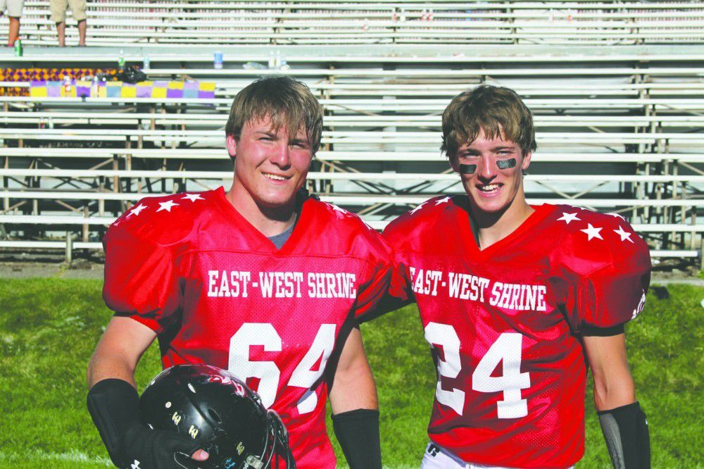 Shining at Shriner's: Lynn, Baty play in East-West game