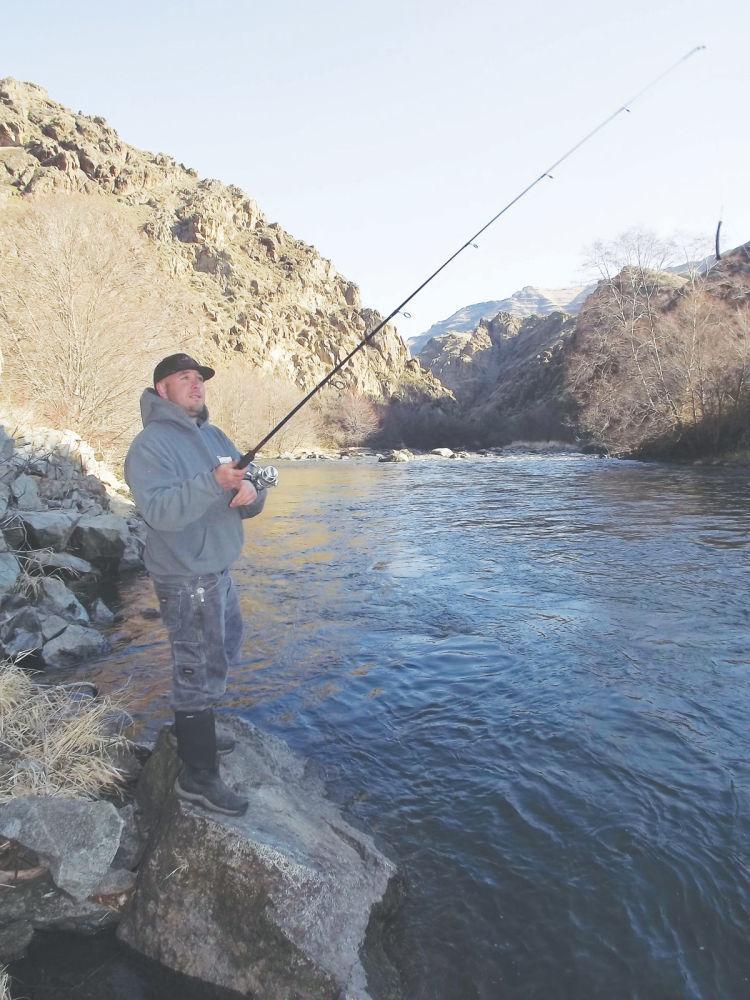 Spring fishing  on the Imnaha