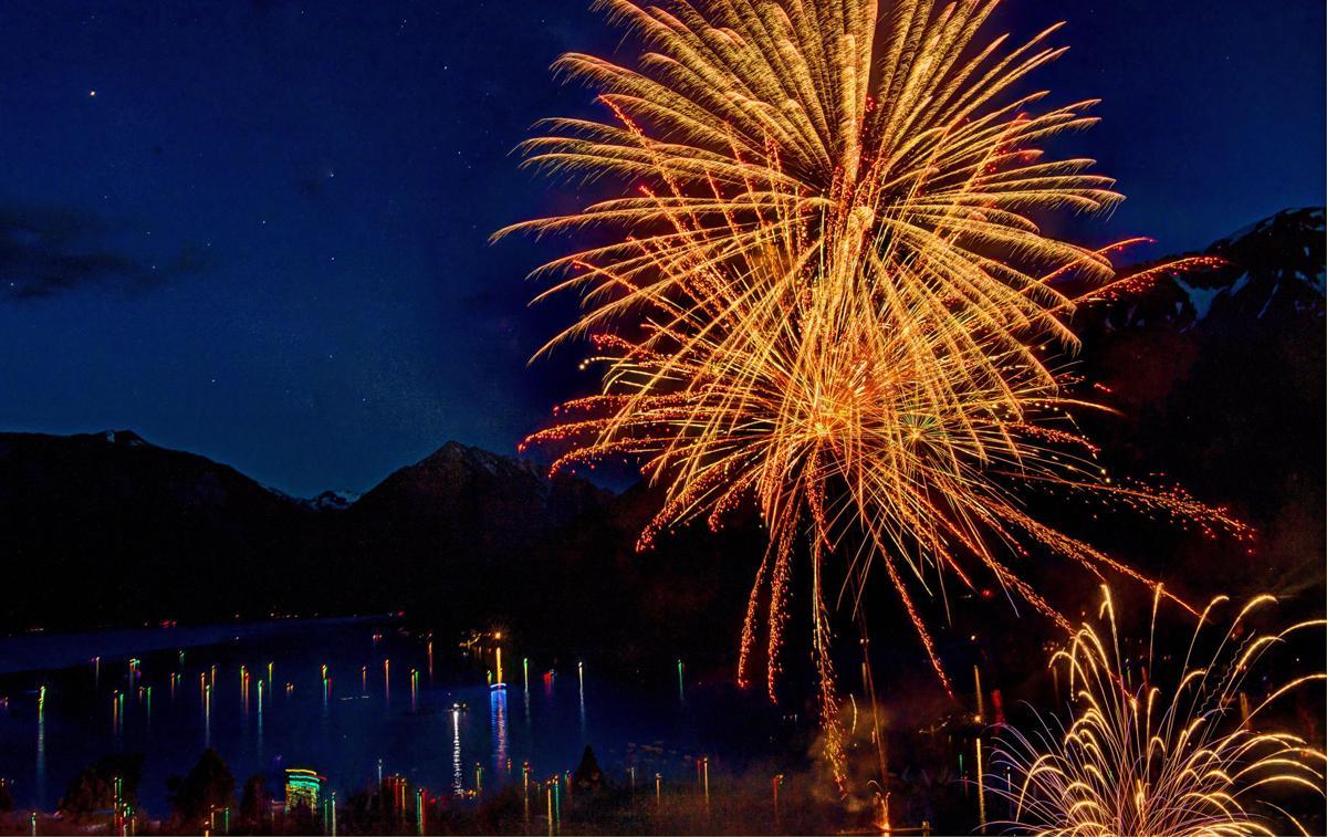 Fireworks Wallowa Lake 8P