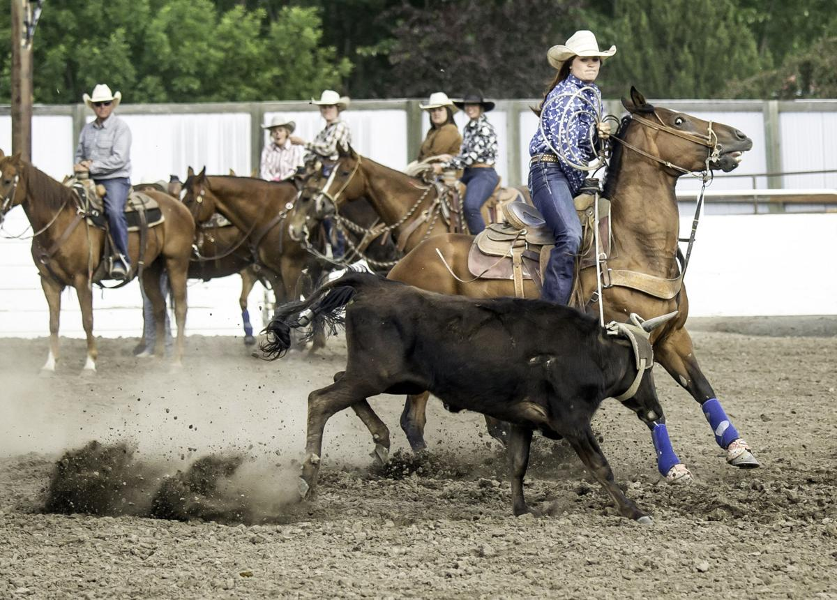Ranch rodeo thrills and spills