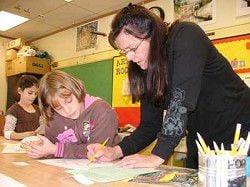Enterprise art teacher at home in Wallowa County