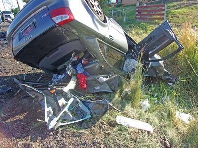 Local man seriously injured in Hwy 97 crash
