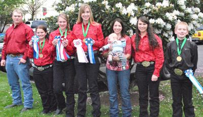 Wallowa County 4-Hers  top at state Horse Classic