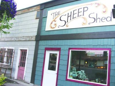 Sheep Shed at new spot this week