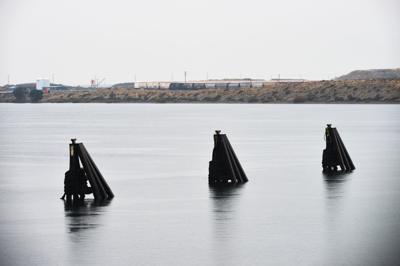 BOARDMAN Coal dock dead in the water