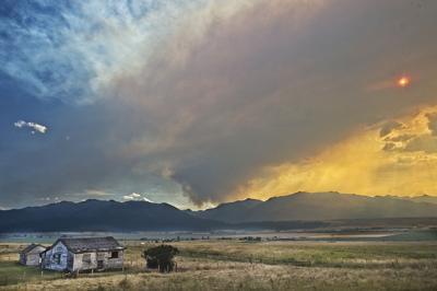 Granite Gulch fire August 20