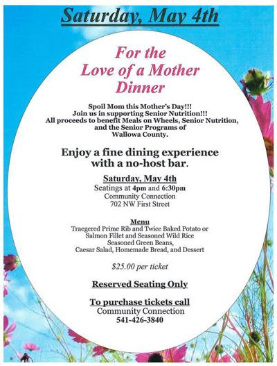 For the Love of a Mother Dinner