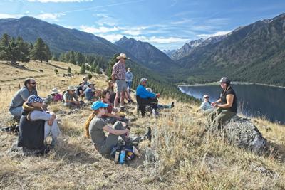 Wallowa Land Trust moraine hike Nez Perce