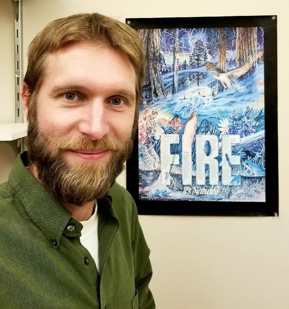 Fire refugia and Garrett Megs photo