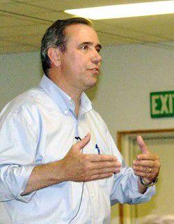 Merkley gets an earful in county visit