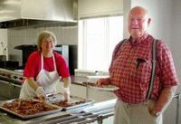 'Meat and potatoes' draw senior citizens