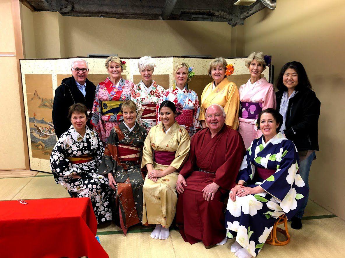 Kimono Group Photo