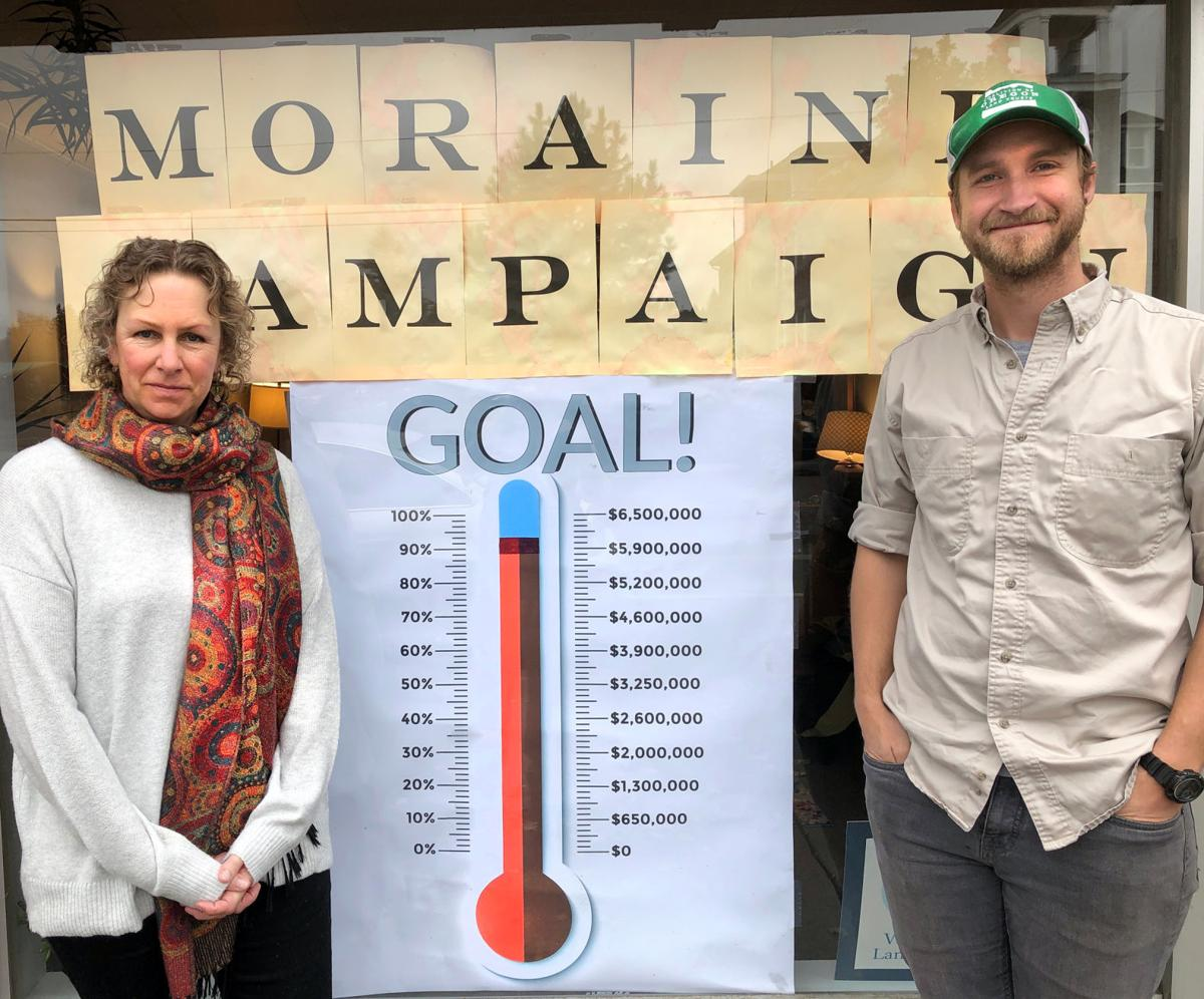 East Moraine campaign nears success.