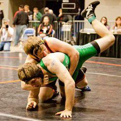 Hayes takes fourth place in state's 125
