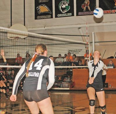 WHS volleyball team now broken-in