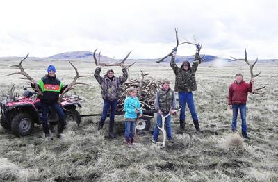 Elk antlers from Zumwalt bring $10,000 to fair