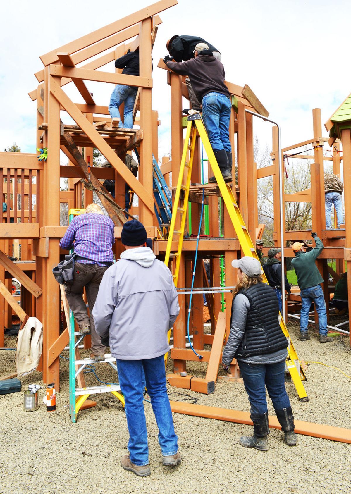 Playground in Joseph opens
